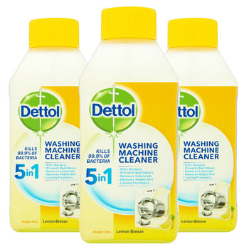Dettol Washing Machine Cleaner Citrus, 3 x 250ml
