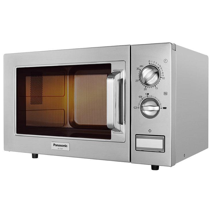 Panasonic NE1027BTQ, 22L Commerical Microwave In Silver