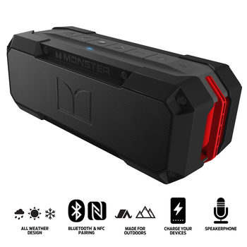 Monster Adventurer Weatherproof Bluetooth Speaker