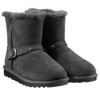 Kirkland Signature Kids Shearling Buckle Boots 2 in 8 Sizes and 3 Colours