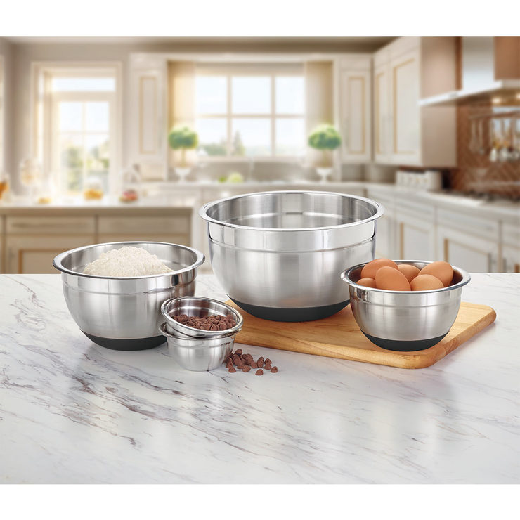 Costco Furniture Kirkland: Kirkland Signature Stainless Steel Mixing Bowls, 5 Piece