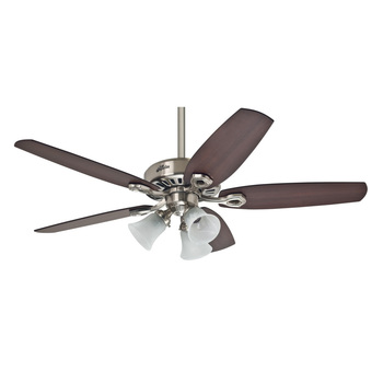 Hunter Builder Plus 5 Blade (132 cm) Indoor Ceiling Fan with Lights
