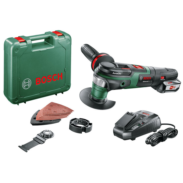 bosch advancedmulti 18v cordless multi tool with battery. Black Bedroom Furniture Sets. Home Design Ideas
