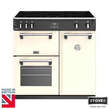 Stoves Richmond S900Ei, 90cm Induction Range Cooker A Rating in 2 Colours