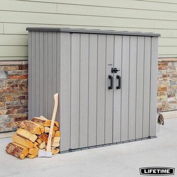 "Lifetime 6ft 3"" x 3ft 6"" (1.9 x 1.1m) Utility 3,100 Litre Storage Shed"