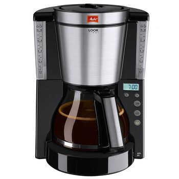 Melitta Look IV Timer Filter Coffee Machine Black