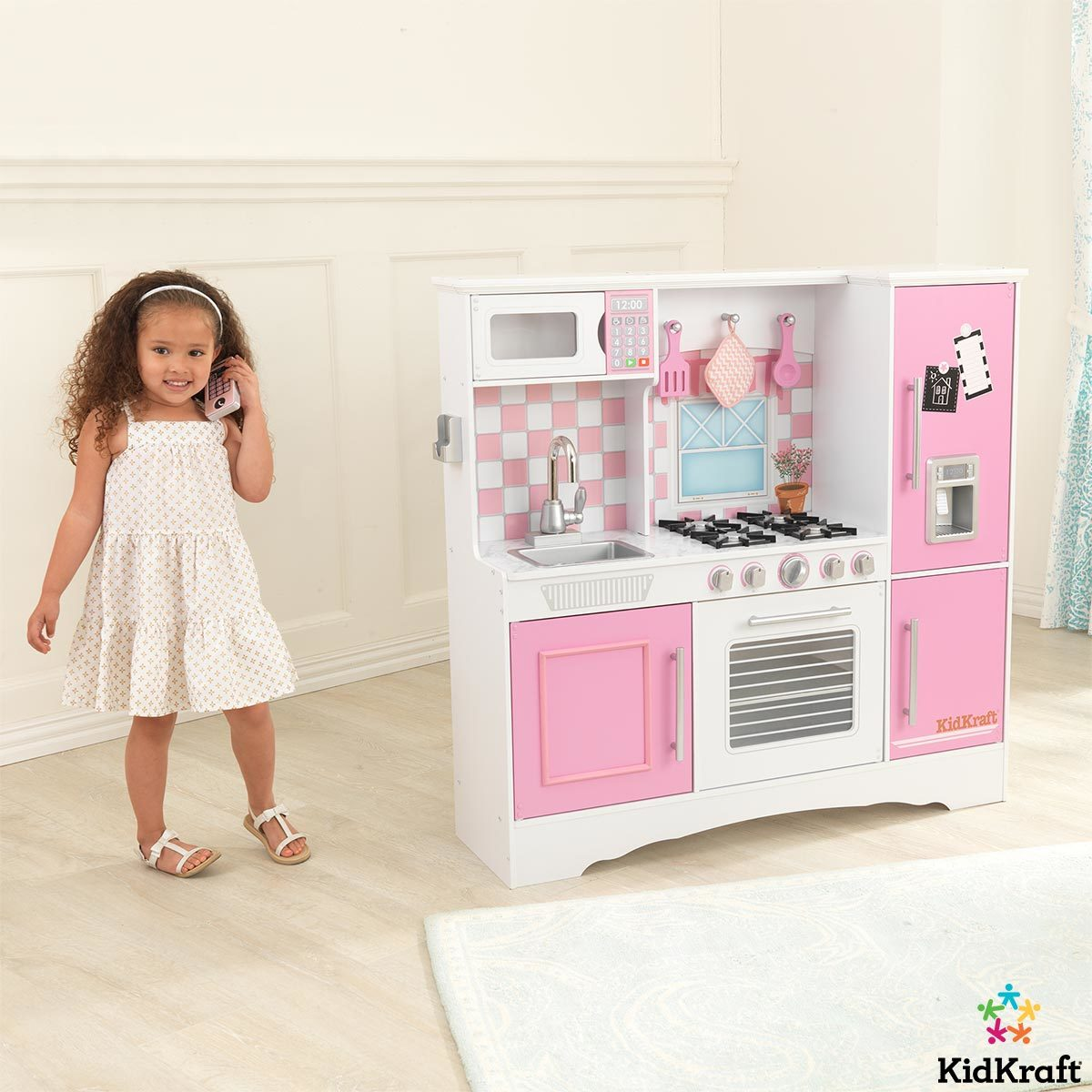 KidKraft Culinary Kitchen in Pink (10+ Years)  Costco UK