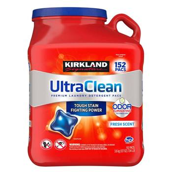 Kirkland Signature Ultra Clean Laundry Pacs, 3.6kg
