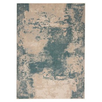 Maxell Ivory & Teal Rug in 2 Sizes
