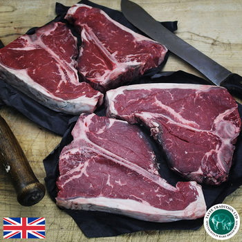 Taste Tradition T-Bone Steaks, 4 x 450g