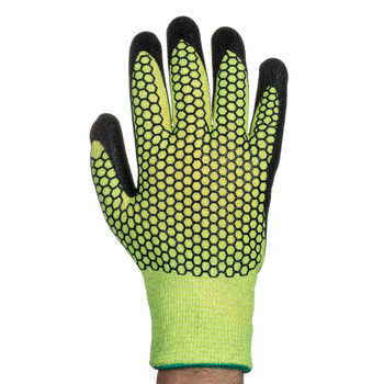 Tornado Optic Hi-Viz Thermal Safety Gloves - 5 Pairs in 3 Sizes