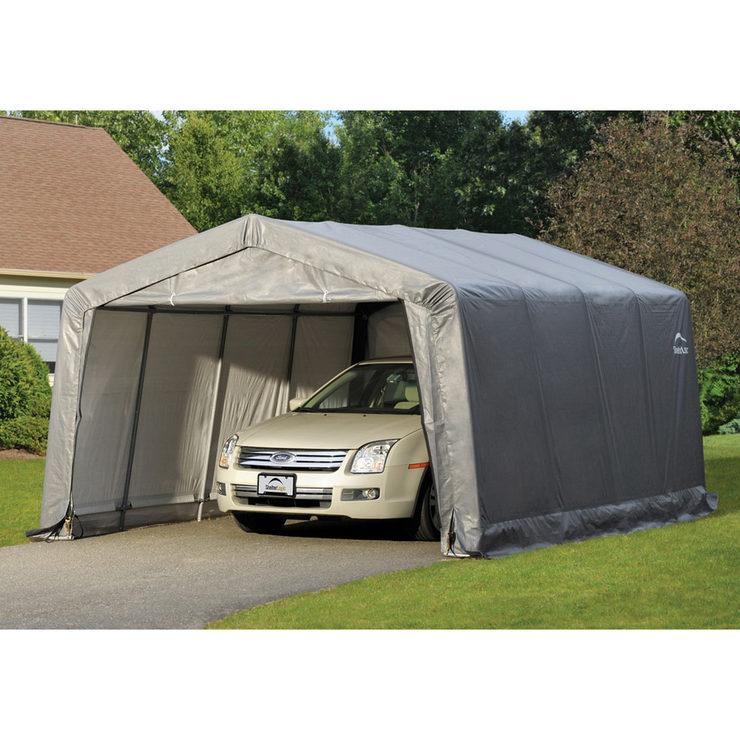 Shelter Logic 18 1m Compact Garage In A Box Model 62697 Costco Uk