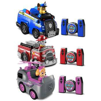 Paw Patrol Rescue Racers Remote Control Car in 3 styles  (3+ Years)