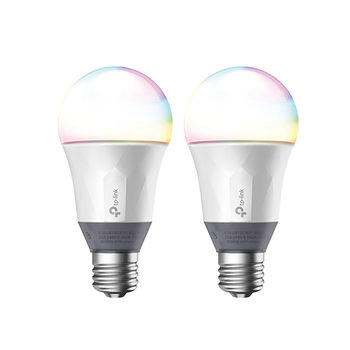 TP-Link Smart Wi-Fi LED LB130 Colour Changable Light Bulb - 2 Pack
