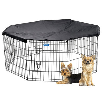 Lucky Dog Exercise Pen + Cover - Small (H 60.9cm)