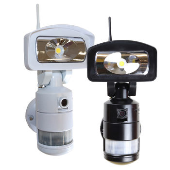 NightWatcher NW765 Robotic LED Security Light with Wi-Fi HD Camera in 2 Colours