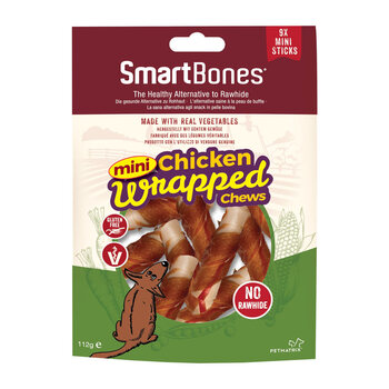 Smartbones Chicken Wrapped Chews, 3 x 9 Count
