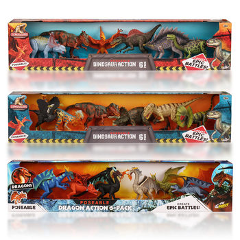 9 Inch (22cm) Posable Dinosaurs And Dragons Assortment (6+ Years)