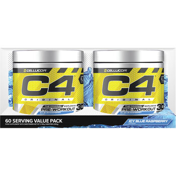 Cellucor C4 The Original Explosive Pre-Workout Icy Blue Raspberry, 390g