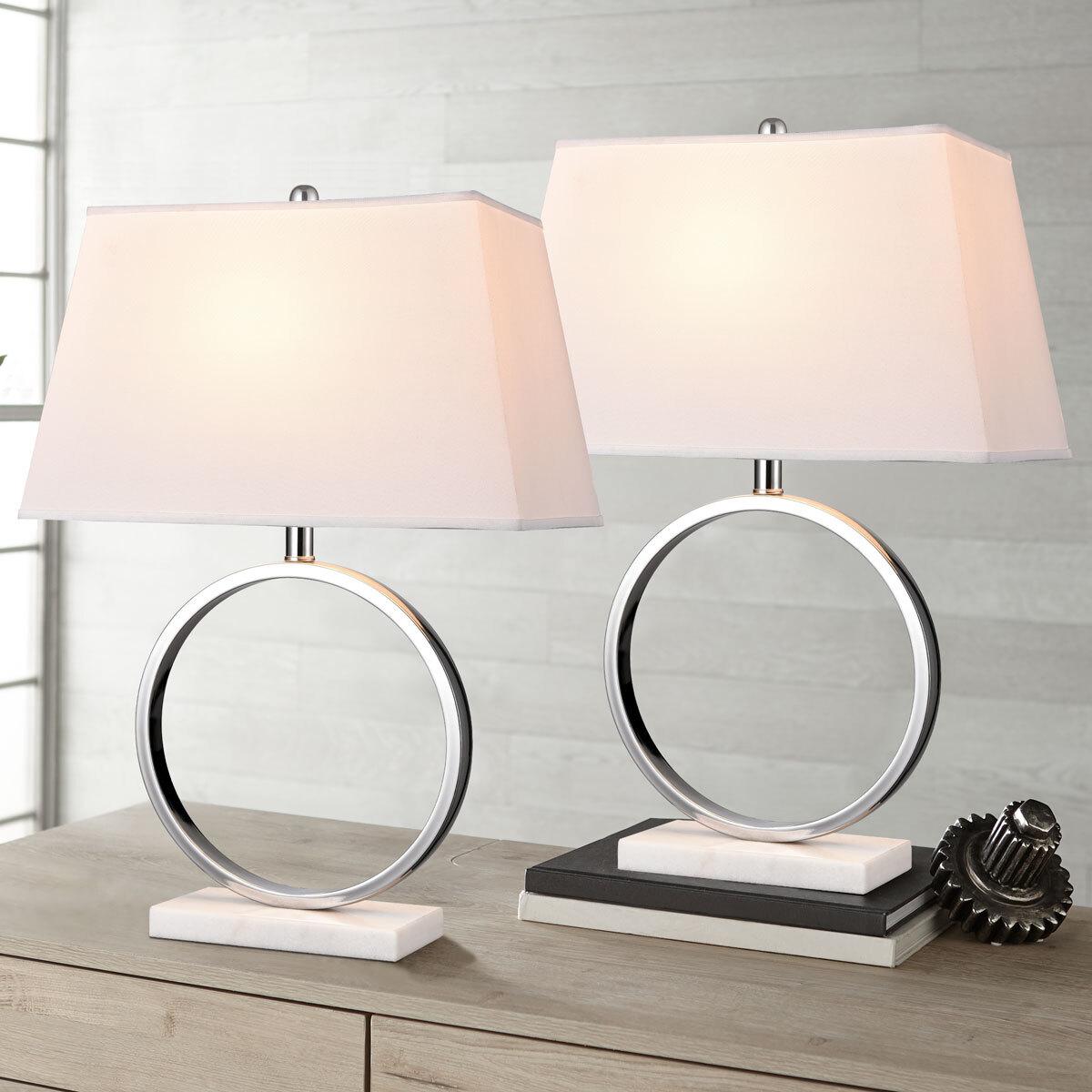 Bridgeport Designs Marble Table Lamp 2 Pack Costco Uk