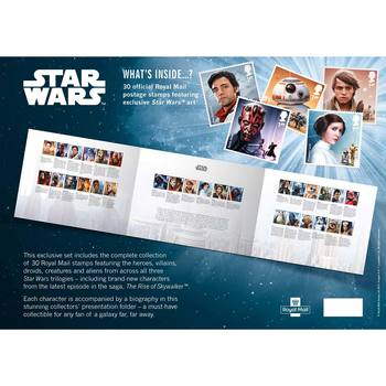 Star Wars Royal Mail® Collectable Stamps - The Official Stamp Collection