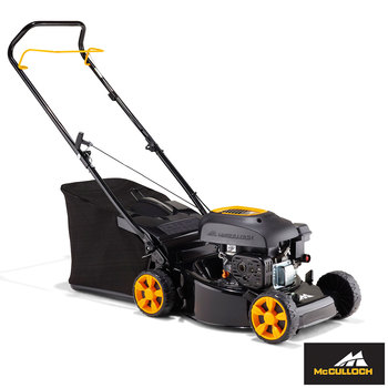 "McCulloch 110cc 18.1"" (46cm) Push Propelled Petrol Lawn Mower - Model M46-110"