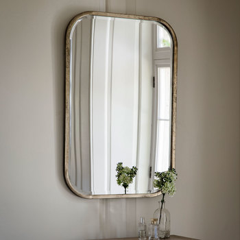 Gallery Logan Rectangle Mirror, 96 x 66 cm