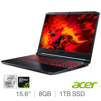 Acer Nitro 5, Intel Core i7, 8GB RAM, 1TB SSD, 15.6 Inch, NVIDIA GeForce GTX 1660 Ti, Gaming Laptop, NH.Q7PEK.005