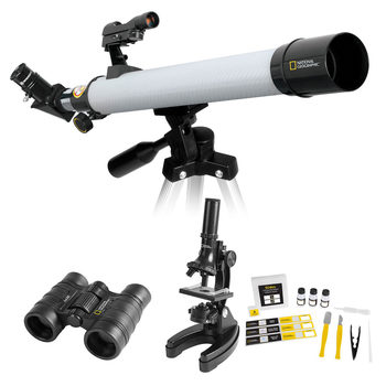 National Geographic Telescope, Microscope And Binoculars Adventure Set (10+ Years)