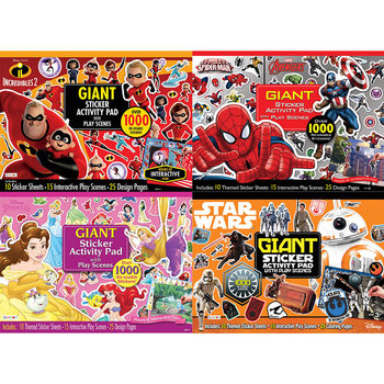 Giant Sticker Activity Pad (4+ Years)