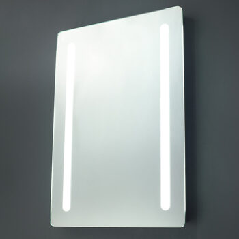 SPA Ecti 12W LED Mirror with Shave Socket, 70 x 50 x 5.6 cm
