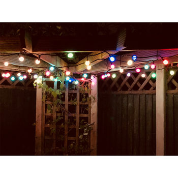 "Lights4You Outdoor 10m (32ft 9"") 50 LED Colour Changing String Lights"