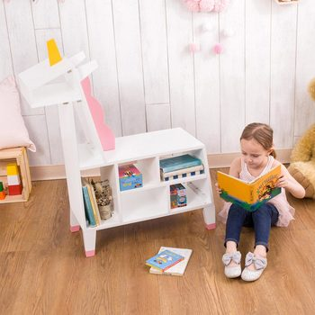 Teamson Zoo Kingdom Unicorn Bookshelf 275525