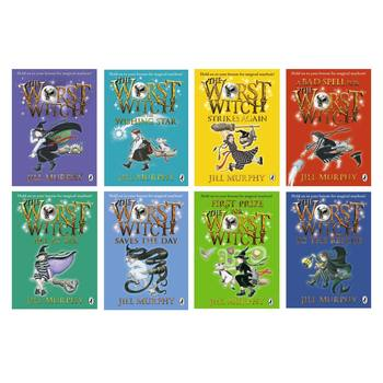 The Worst Witch 8 Piece Slipcase Collection
