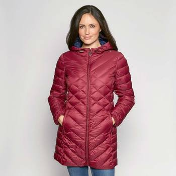 David Barry Women's Feather and Down Quilted Coat in 7 sizes and 5 Colours