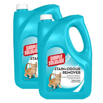 Simple Solution Stain & Odour Removal for Cats, 2 x 4L