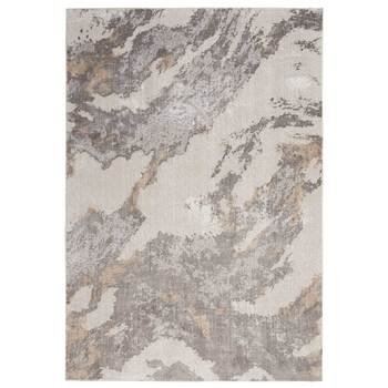 Silky Textures Grey Marbleised Rug in 2 Sizes