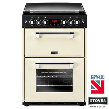 Stoves Richmond 600G Gas Range Cooker A Rating in 3 Colours, 60cm Wide