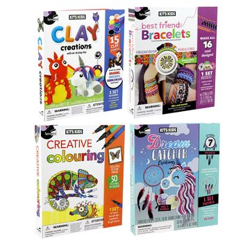SpiceBox Creative Kits for Kids Assortment (4+ Years)