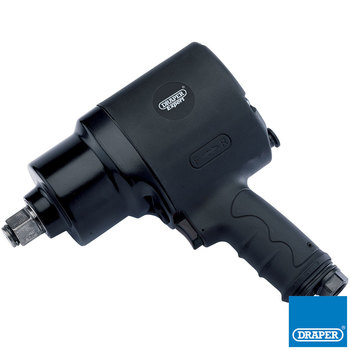 "Draper Composite Body Air Impact Wrench, 3/4"" Square Drive"