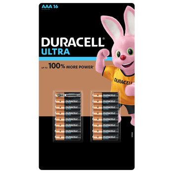 Duracell Ultra Power AAA Alkaline Batteries - 16 Pack
