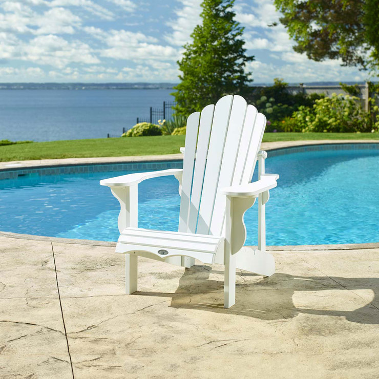 Genial Leisure Line Adirondack Chair In 2 Colours