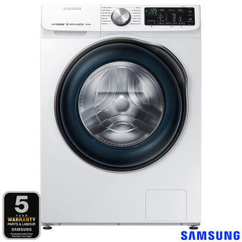 Samsung WW10N645RBW/EU, 10kg, 1400rpm, ecobubble Washing Machine A+++ Rating in White