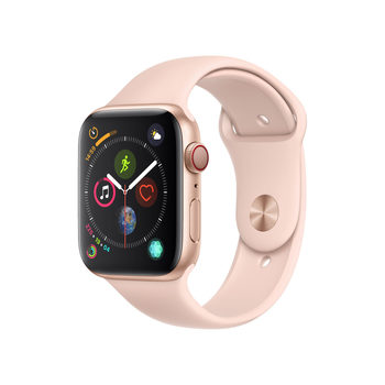 Apple Watch Series 4, MTVW2B/A, GPS & Cellular, 44mm Gold Aluminium + Pink Sand Sports Band