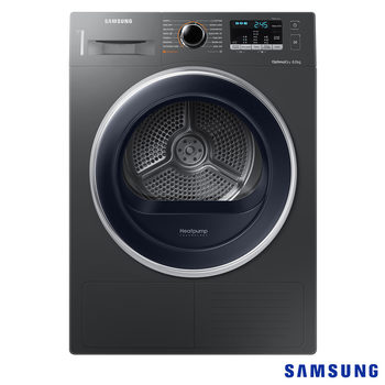 Samsung 8kg, A++ Rating Heat Pump Dryer, DV80M5013QX/EU in Inox