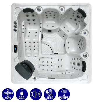 Platinum Spas Arum 129-Jet 5 Person Hot Tub - Delivered and Installed