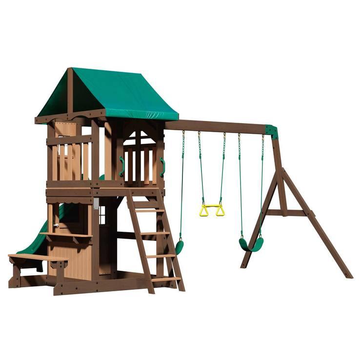 Backyard Discovery Lakewood Swing Set Playcentre (2-10 ...