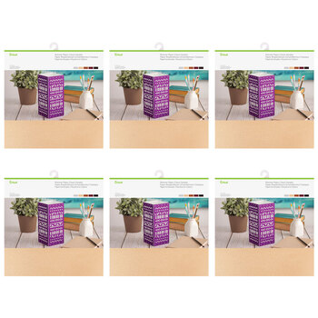 Cricut Classic Shimmer Paper Sampler Bundle - 6 Pack (60 Sheets)