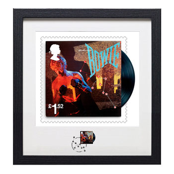 David Bowie Framed Royal Mail® Collectible Stamps - Let's Dance Stamp & Print
