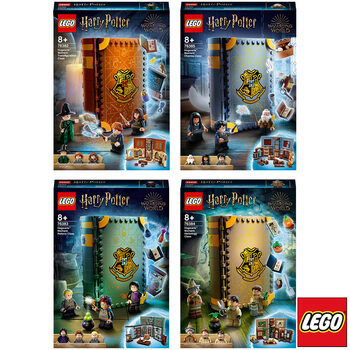 LEGO Hogwarts™ Moment: Charms Class Bundle - Models 76382, 76383, 76384, 76385 (8+ Years)